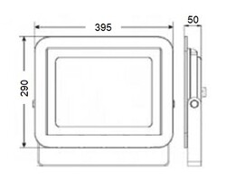 LP200 B 200W Led Projektör 6500K - Thumbnail