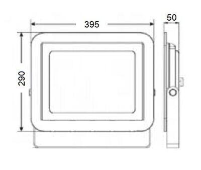 LP200 B 200W Led Projektör 6500K