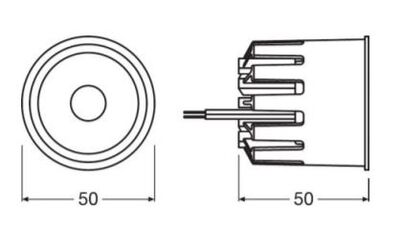 51562 CN50 MR16 900 COIN LED MODUL (3000K)